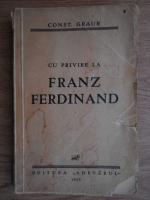 Constantin Graur - Cu privire la Franz Ferdinand (1935)