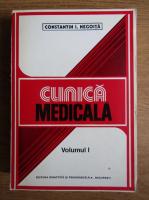 Anticariat: Constantin I. Negoita - Clinica medicala (volumul 1)