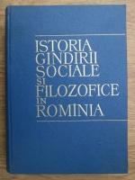 Anticariat: Constantin Ionescu Gulian - Istoria gandirii sociale si filozofice in Romania