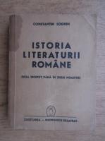 Constantin Loghin - Istoria literaturii romane. De la inceput pana in zilele noastre (1941)