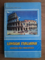 Constantin Marcusan - Limba italiana. Manual de initiere