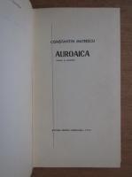Constantin Mateescu - Auroaica (cu autograful autorului)