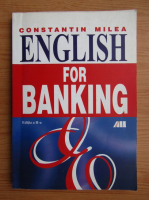 Anticariat: Constantin Milea - English for banking