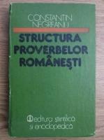 Constantin Negreanu - Structura proverbelor romanesti