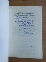 Anticariat: Constantin Nisipeanu - Buna dimineata, noapte frumoasa! (cu autograful si dedicatia autorului pentru Jozsef Balogh)
