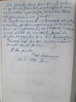 Anticariat: Constantin Papanace - Evocari. Gand si fapta legionara (cu autograful autorului si dedicatie lui Carol Papanace)