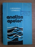 Anticariat: Constantin Patroescu - Analiza apelor