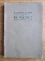 Constantin Radulescu-Motru - Curs de psihologie (1923)