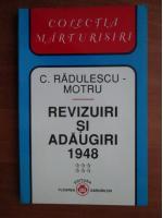 Anticariat: Constantin Radulescu Motru - Revizuiri si adaugiri 1948 (volumul 6)