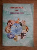 Constantin Rosca - Dictionar de ergonomie
