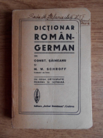 Anticariat: Constantin Saineanu - Dictionar roman-german