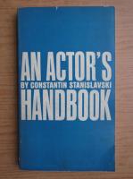 Anticariat: Constantin Stanislavski - An actor's handbook