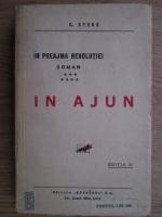 Constantin Stere - In preajma revolutiei, volumul 7 (1926)