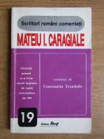 Anticariat: Constantin Trandafir - Mateiu I. Caragiale