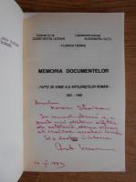 Anticariat: Constantin Ucrain - Memoria documentelor. Fapte de arme ale artileristilor romani (cu autograful autorului)