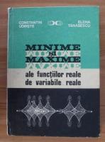 Constantin Udriste - Minime si maxime ale functiilor reale de variabile reale