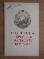 Anticariat: Constitutia Republicii Socialiste Romania