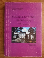 Anticariat: Coralia Letitia Bunghez, Gheorghe I. Bunghez - Colegiul National Petru Rares, Piatra-Neamt. File de istorie 1969-1999