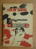Anticariat: Corin Bianu - Epigrame dezbracate