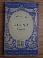 Anticariat: Corneille - Cinna. Tragedie (1933)