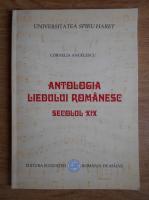 Anticariat: Cornelia Angelescu - Antologia liedului romanesc. Secolul XIX
