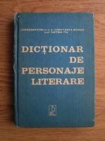 Cornelia Bularca - Dictionar de personaje literare