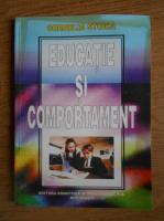 Anticariat: Cornelia Stoica - Educatie si comportament