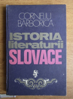 Corneliu Barborica - Istoria literaturii slovace