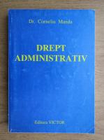 Corneliu Manda - Drept administrativ
