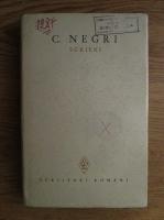 Anticariat: Costache Negri - Scrieri (volumul 1)