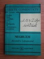 Anticariat: Costache Negruzzi - Alexandru Lapusneanu (texte comentate)