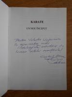 Costica Ursac - Karate, un nou inceput (cu autograful autorului)