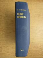 Costin D. Nenitescu - Chimie organica (volumul 1)