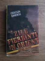 Craciun Ionescu - Zile fierbinti in Orient