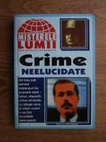 Crime neelucidate