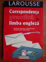 Crispin Michael Geoghegan - Corespondenta practica in limba engleza
