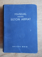 Cristea Niculescu - Manual pentru beton armat (1947)