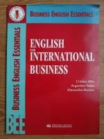 Cristina Athu - English for international business