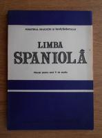 Cristina Hancu - Limba spaniola. Manual pentru anul V de studiu