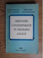 Anticariat: Crizantema Joja - Orientari contemporane in filosofia logicii