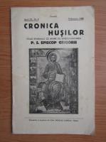 Anticariat: Cronica Husilor, anul IX, nr. 2, februarie, 1940