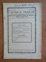 Anticariat: Cronica Husilor, anul VII, nr. 8, august 1940