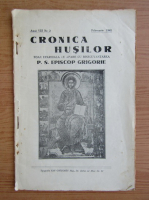 Anticariat: Cronica Husilor, anul VIII, nr. 2, februarie 1941