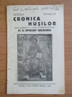 Anticariat: Cronica Husilor, anul VIII, nr. 6-8, iunie-august 1941
