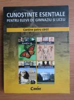 Cunostinte esentiale (4 volume) Planeta vie. Corpul uman. Istorie moderna. Istorie antica si medievala