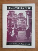 Anticariat: Cuvantari la Paris