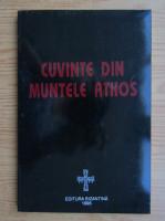 Cuvinte din Muntele Athos