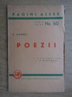 D. Anghel - Poezii (nr. 60, 1943)