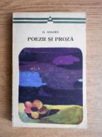 Anticariat: D. Anghel - Poezii si proza