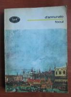 Anticariat: D`Annunzio - Focul